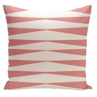 Jennifer Faux Down Fill Throw Pillow, 18''Sq,/Insert included - AllModern