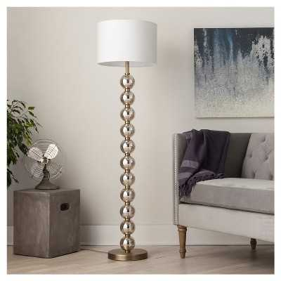 "Stacked Ball Floor Lamp - Mercury Glass (Includes CFL Bulb) - Thresholdâ""¢ - Target"