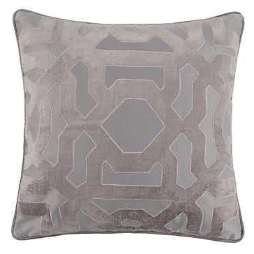 """Modello Pillow 22"""" - Amethyst,  insert - Z Gallerie"""