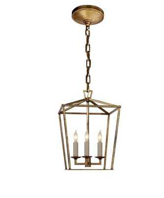 Mini Darlana Lantern, Gilded Gold - High Street Market