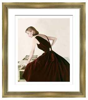 "Portrait/figural-27'5""x27'5""-Champagne Frame - One Kings Lane"