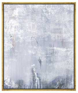 """Dreaming in Grey Canvas-21.75"""" x 1.25"""" x 25.75""""-Framed - One Kings Lane"""