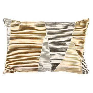 Darlow Pillow - 18''W x 12''H - Polyester Insert - Z Gallerie