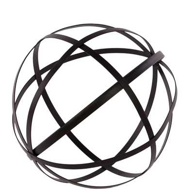Urban Trends Collection Orb Dyson Sphere with Four Circles - Bellacor