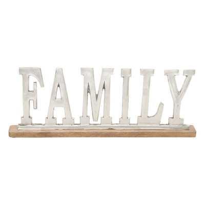 Family Letter Block - Wayfair