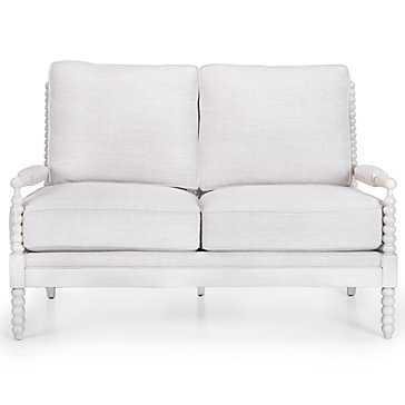 Spindle Love Seat - Z Gallerie