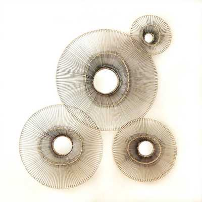 Tilt-A-Wire Mirror - Medium - Domino