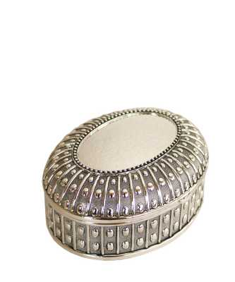 Silver Plated Urchin Box-Small - High Street Market