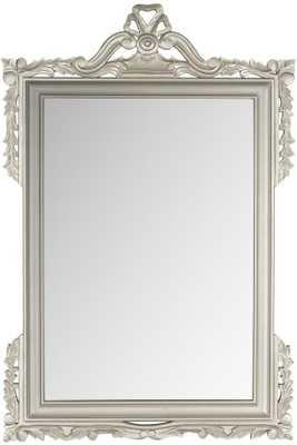 ANNETTE WALL MIRROR - Silver - Home Decorators