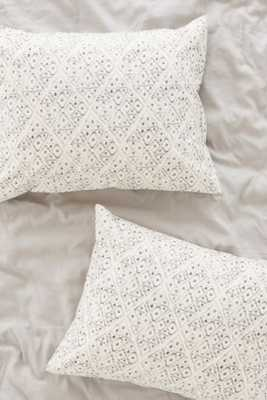 4040 Locust Dotted Diamond Sham Set - Urban Outfitters