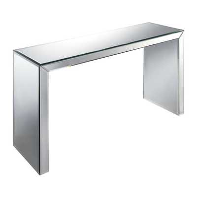 Matinee Beveled Glass Hall Table - Overstock