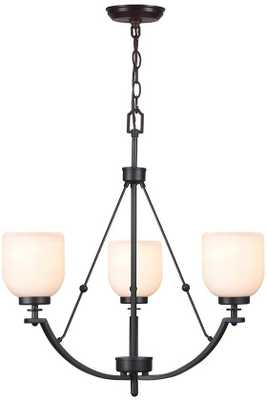 RIDLEY 3-LIGHT CHANDELIER-Oil Rubbed Bronze - Home Decorators