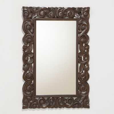 Tegan Carved Mirror - World Market/Cost Plus