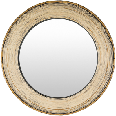 WOODLANDS ROUND MIRROR - Burke Decor