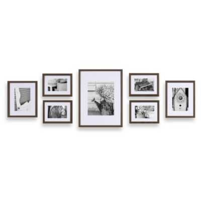 Gallery Perfect 7-Piece 6' W x 2' H Frames - Bed Bath & Beyond
