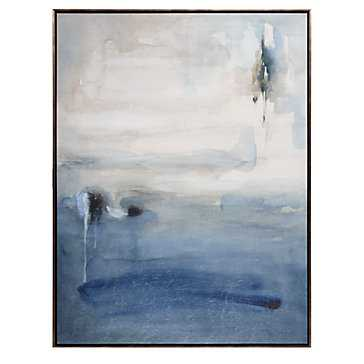 "Blue Desolation - 30""W x 40""H - Framed - Z Gallerie"