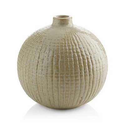 Hagen Round Vase - Crate and Barrel