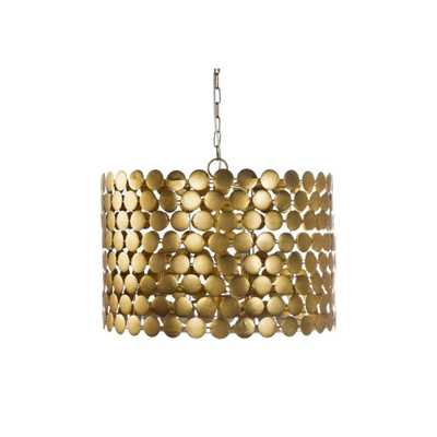 Parker Gold Chandelier - Domino