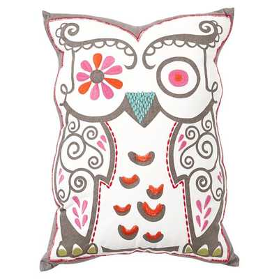 Junk Gypsy Shaped Pillows - Be Hoo You Be 12x16 with insert - Pottery Barn Teen