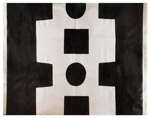 Black & White Abstracts - Domino