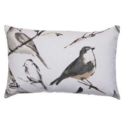 "Bird Throw Pillow Collection - 11.5"" x 18.5"" - Polyester fill - Target"