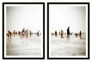 """Warm Memories V Diptych (Set of 2)-17"""" x 23"""" -Framed - One Kings Lane"""