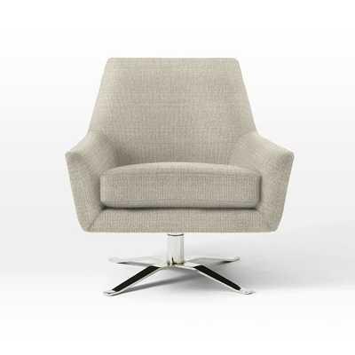 Lucas Swivel Base Chair - West Elm