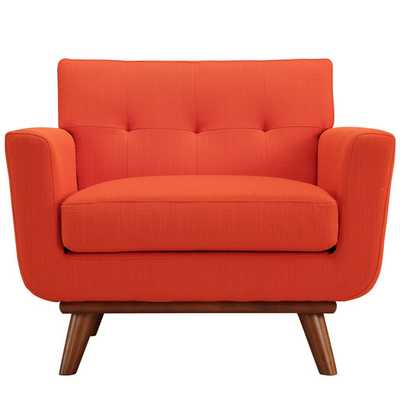 Engage Arm Chair - Atomic Red - AllModern
