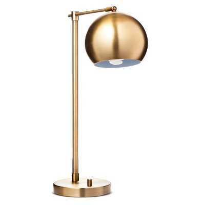 Threshold Brass Task Lamp (Includes CFL Bulb) - Target