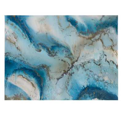 'Agate Inspired' by Blakely Bering Painting Print on Canvas - Wayfair