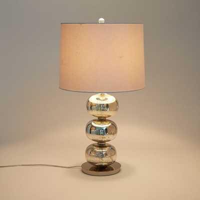 Abacus Table Lamp - Mercury - West Elm