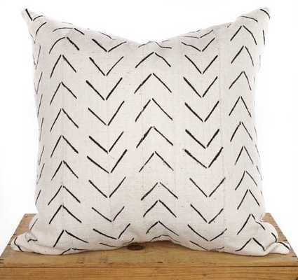 White African Mud Cloth Pillow Cover - 20x20 - No Insert - Etsy