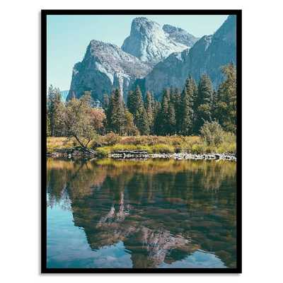 "Yosemite Reflections - 32"" x 42"" - Framed - West Elm"