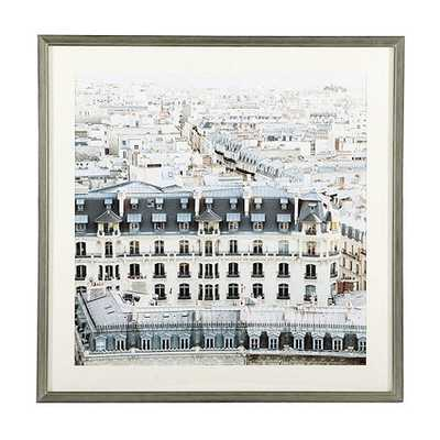 Paris Rooftop Photography - framed - Ballard Designs
