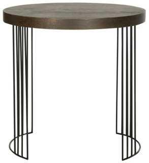 Ellen Side Table, Black - One Kings Lane