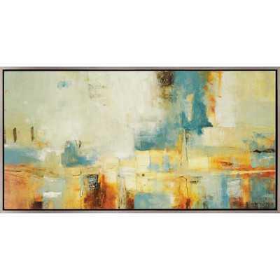 Drift Away Giclee by Ridgers Painting Print - 31x61 - Framed - Wayfair