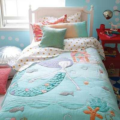 Full White Petite Marguerite Bed - Land of Nod