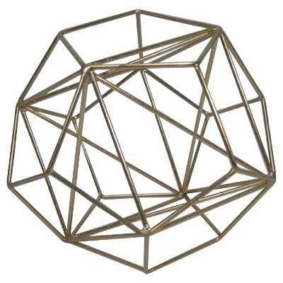 "Thresholdâ""¢ Metal Wire Decorative Figurine Large Brass - Target"
