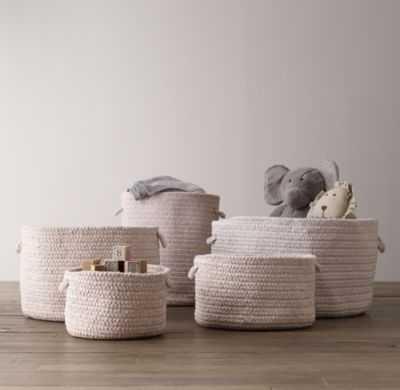 braided wool baskets-Medium - RH Baby & Child