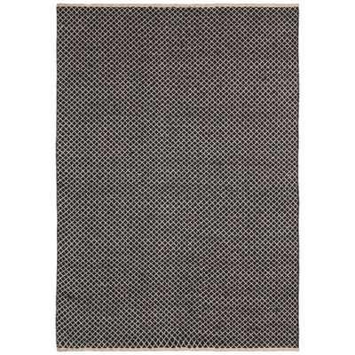 Brown Jute Squares (10'x14') Flat Weave Rug - Overstock