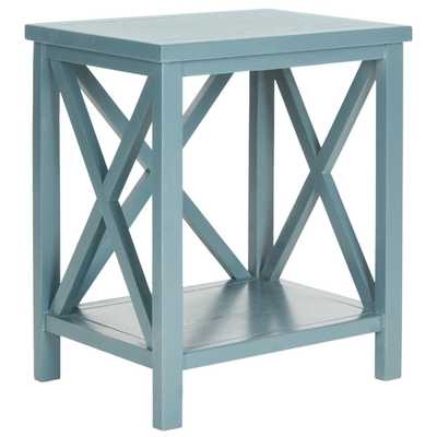 Candence End Table - Teal - Wayfair