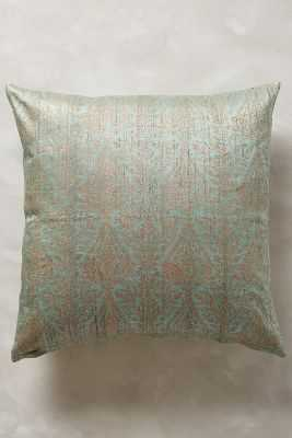 "John Robshaw Bara Pillow - Sky - 20""sq. - Down fill - Anthropologie"