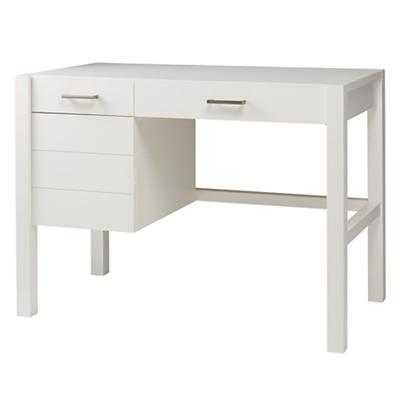 Uptown Desk (White) - Land of Nod