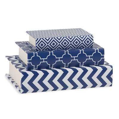 Necessities 3 Piece Book Box Set - Wayfair