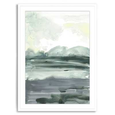Lake View - Framed Print - West Elm
