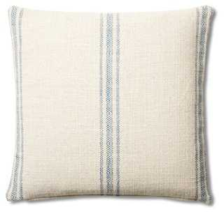 Classic 20x20 Cotton Pillow - One Kings Lane