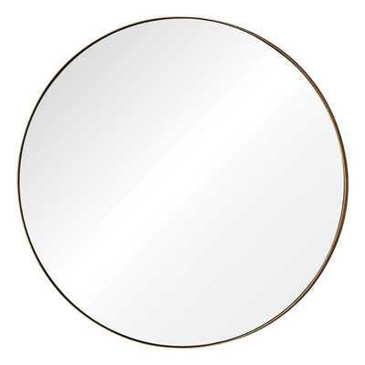 Renwil Oryx Round Glass Mirror - Overstock
