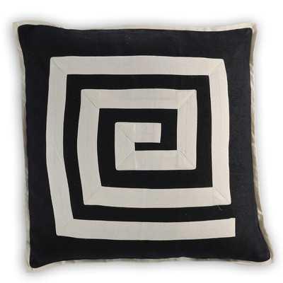 Cluny Linen/Cotton Throw Pillowby Vanderbloom - Wayfair