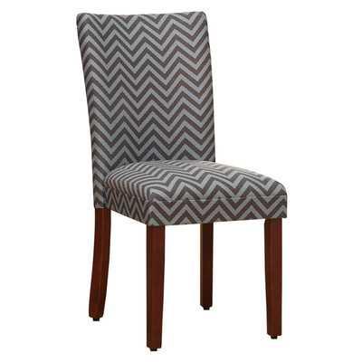 Parsons Chevron Side Chair (Set of 2) - Wayfair