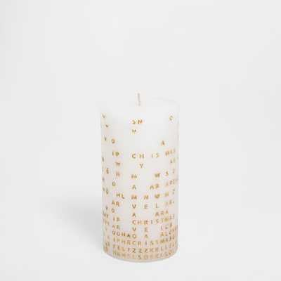 LETTERS CANDLE - Zara Home